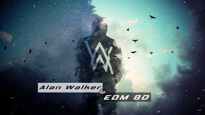 Alan Walker Remix Songs 8D ♫ EDM Bounce Bass Bossted ♫ Wearing Headphone And Feeling