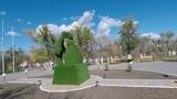 Темиртау прогулка в парке и по площади старого города
