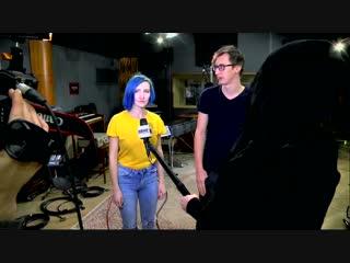 Галя пишет вокал на Vintage Records