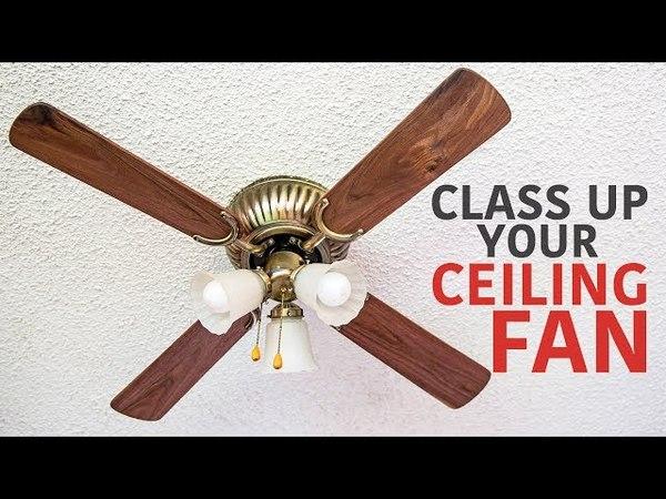 Making Ceiling Fan Blades from Black Walnut