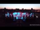 Липецк 22.06.18 Световое лазерное шоу, таймлапс