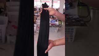 Wholesale 10-30inch Full Cuticle 8-10A Raw Unprocessed Virgin Brazilian Hair weave