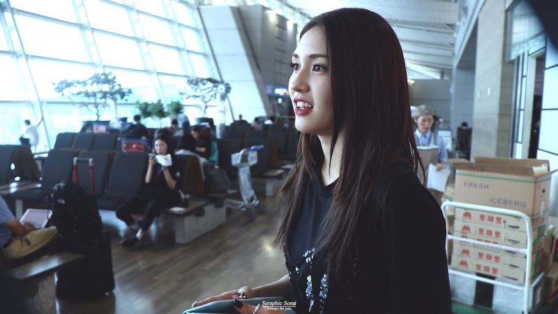 [4K] 180914 전소미(JeonSomi) - ICN 출국 직캠 4K Fancam by Seraphic Somi @인천 국제 공항