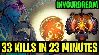 33 Kills In 23 Minutes - TOP 1 WORLD Inyourdream Oracle - Dota 2