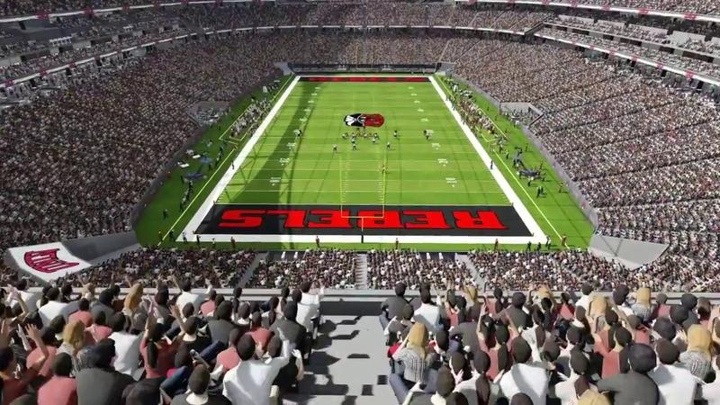 Проект Las Vegas Stadium, г. Лас-Вегас, штат Невада, США.