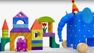 Деревяшки - Считалочка - Развивающие мультики для малышей - Серия 31