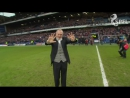 Rangers legend Paul Gascoigne makes guest appearance at Ibrox