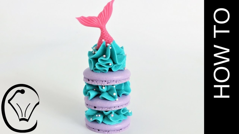 NO Resting! Mermaid French Macarons by Cupcake Savvy's Kitchen