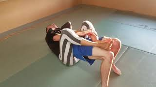 Kid gets used as Practice Dummy for BJJ