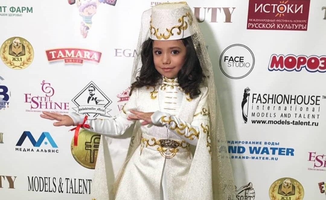 Шестилетняя девочка из Зеленчукского района стала «Юной супермоделью России»