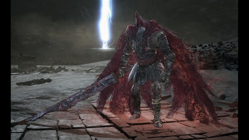 Dark Souls 3 - Рыцарь-раб Гаэль (NG)
