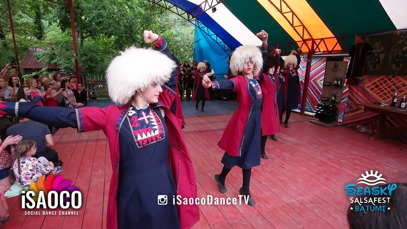 The Ladyes National Georgian Dancing Show at Seasky Salsafest Batumi, Friday 15.06.2018