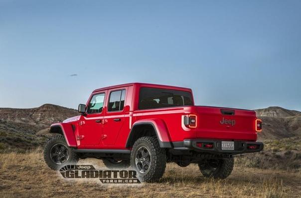 Раскрыта внешность нового пикапа Jeep.