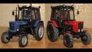 Модели тракторов 143 МТЗ 80.1 и 82.1 конверсия