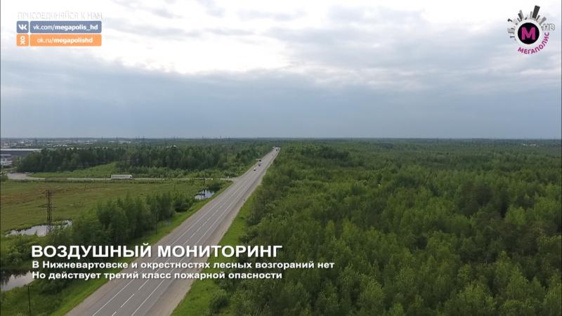 Мегаполис Воздушный мониторинг Нижневартовский район