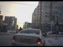 ДТП Форда и Тойоты н перекрёстке Гоголя и Шамшиных