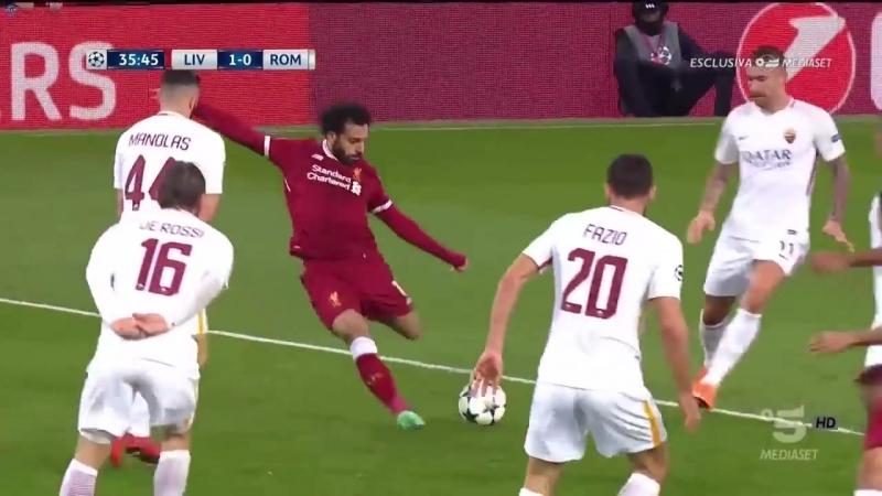 Liverpool-Roma 52 incredible Salah goal 10 (24.04.18)