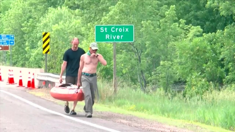 Flood Waters Cause Damage, Close Roads In Northern Wisconsin
