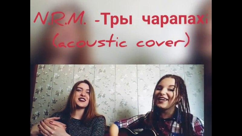 N.R.M. - Тры чарапахі (acoustic cover Alina Savina and Yana Sarenkova) )