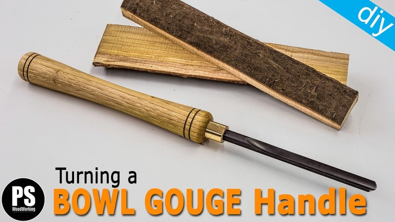 Turning a Bowl Gouge Handle