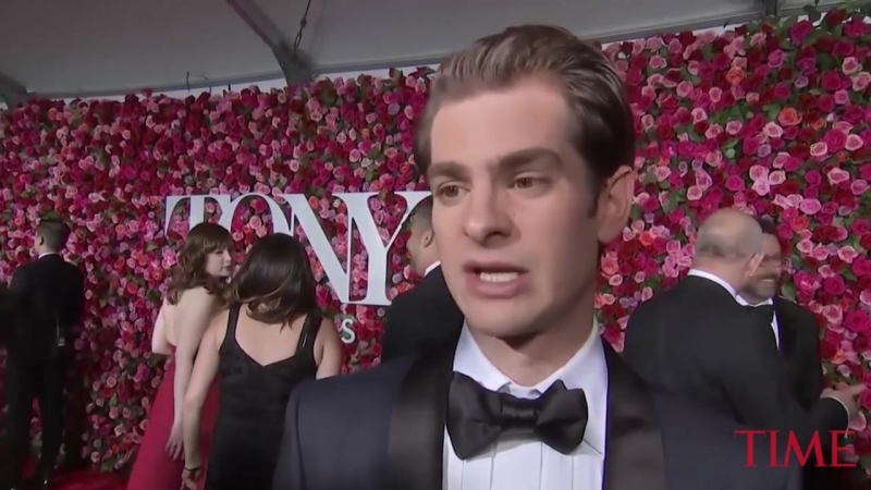 Andrew Garfield Talks About Importance Of Live Theater - TIME
