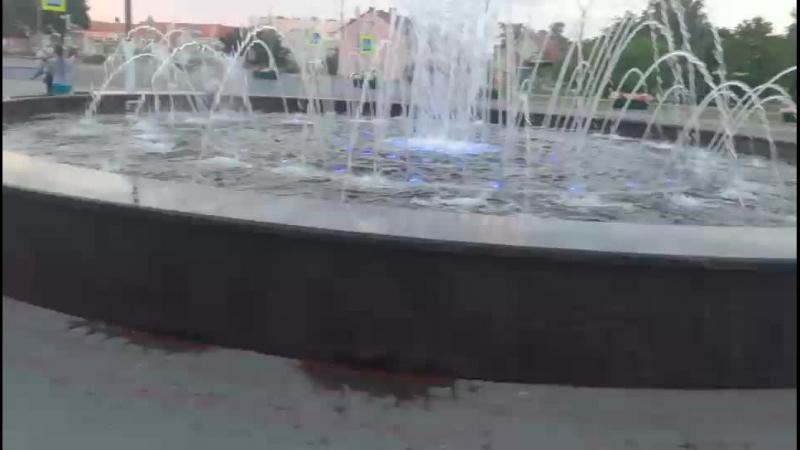 Фонтан в Приозерск