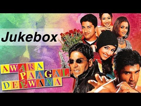 Awara Paagal Deewana Video Song JUKEBOX Akshay Kumar Sunil Shetty Paresh Rawal HD