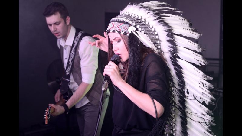 Группа ГЛЯНЕЦ в FONDUE club - No Roots (Alice Merton cover)