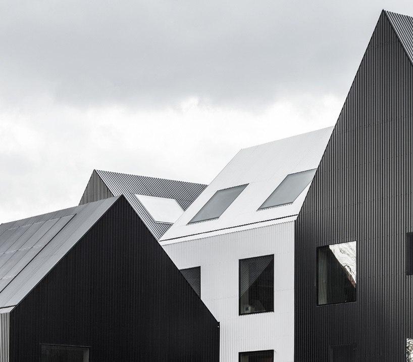COBE conceives frederiksvej kindergarten in Copenhagen as a small village