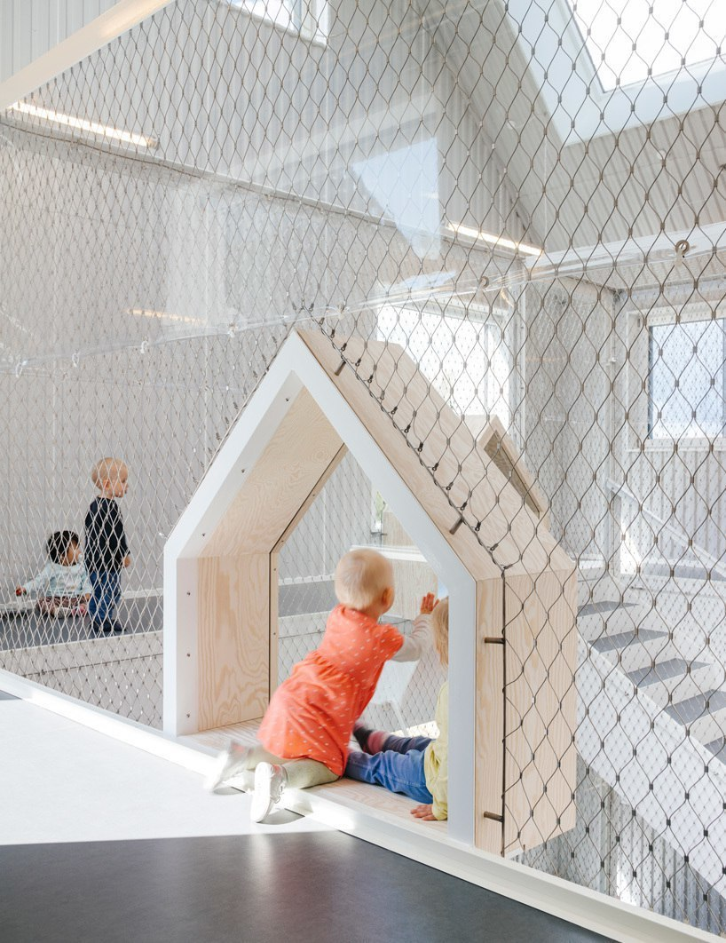 COBE conceives frederiksvej kindergarten in Copenhagen as a small village