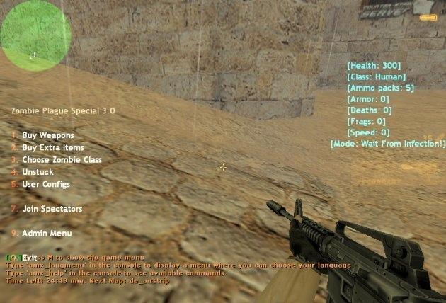 [CS 1.6] Как добавить пункт в меню Zombie Plague 4.3?