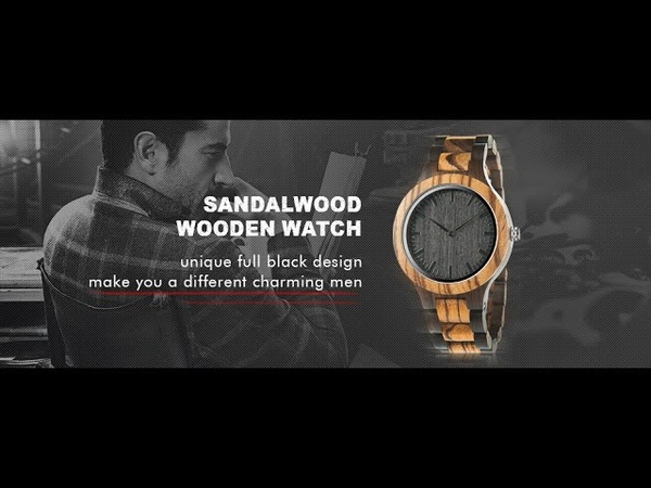 2019 New Fashion Luxury Wooden Watch Automatic Self Wind