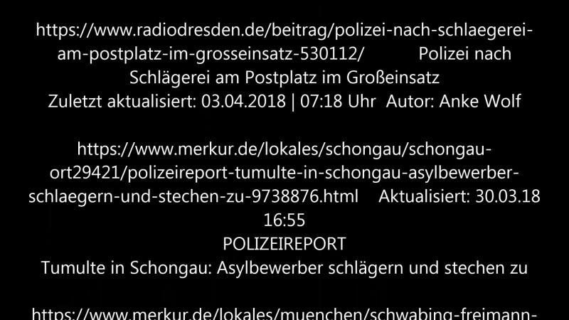 Die Zahl der gemeldeten Messerverbrechen in Deutschland