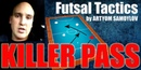 How To OPEN SPACE and Make a KILLER PASS in Futsal Coaching Futsal Tactics 5x5