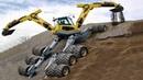 Dangerous Biggest Monster Spider Excavator Heavy Equipment Operator Construction Modern Machinery