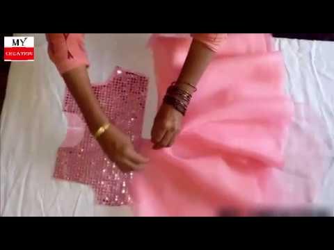 Umbrella frock cutting | baby frock cutting | step by step cutting tutorial