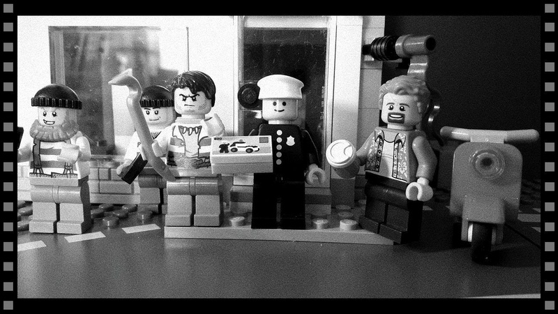 ОГРАБЛЕНИЕ МАГАЗИНА LEGO
