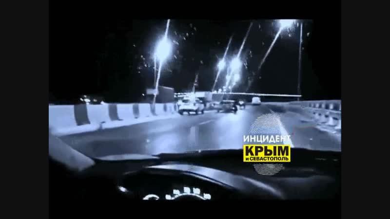 ЧП Крымский мост - гололед, большая авария, Подслушано Судак