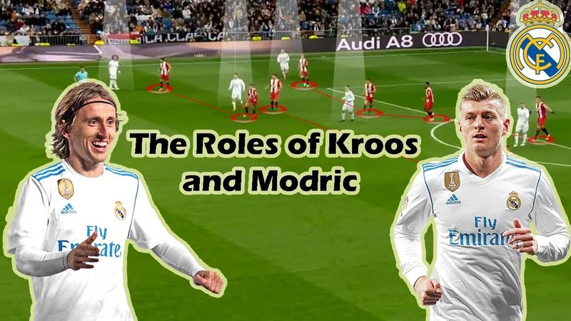 Tactical Analysis | The Roles of Kroos and Modric in Zidanes Style of Play
