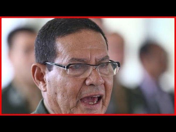 General Mourão afirma: 'O país não tem que ser tutelado pelas Forças Armadas'