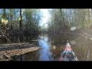 Каякер Самара-поиск ручья который ведет на Каменное озеро