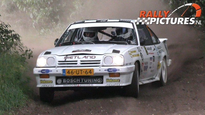 Vechtdal Rally 2017 l Opel Manta I200 Rally Team Altena-Aaltink