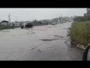 Потоп на улице Студенческой в Энергетике Видео читателя Август 2018