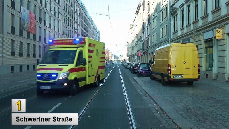 Straßenbahn Dresden 2018 Linie 1