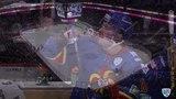 Моменты из матчей КХЛ сезона 1415 Удаление. Мартинович Саша (Медвешчак)наказан двойным малым штрафом за игру высоко поднятой
