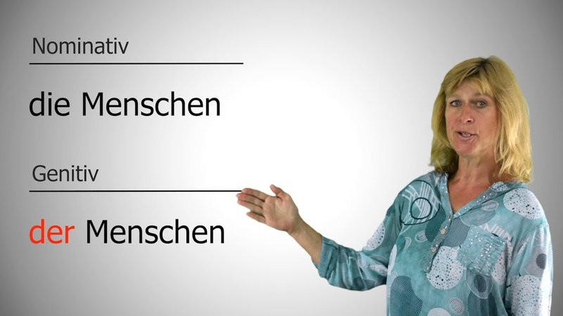 Deutsch lernen 6 - Genitiv (Fragewort Wessen, Präpositionen, Gebrauch)
