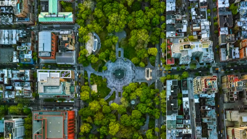 Stunning aerial photos capture US cities from above
