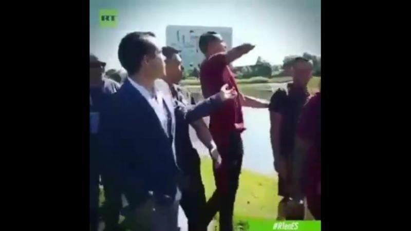 İsrail televizyonu Cristiano Ronaldo ile röportaj yapmak istedi ve bak ne oldu Hallal olsun👍☝️