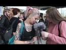 Татуированные парни и девушки на Международной Московской Тату Конвенции 2017