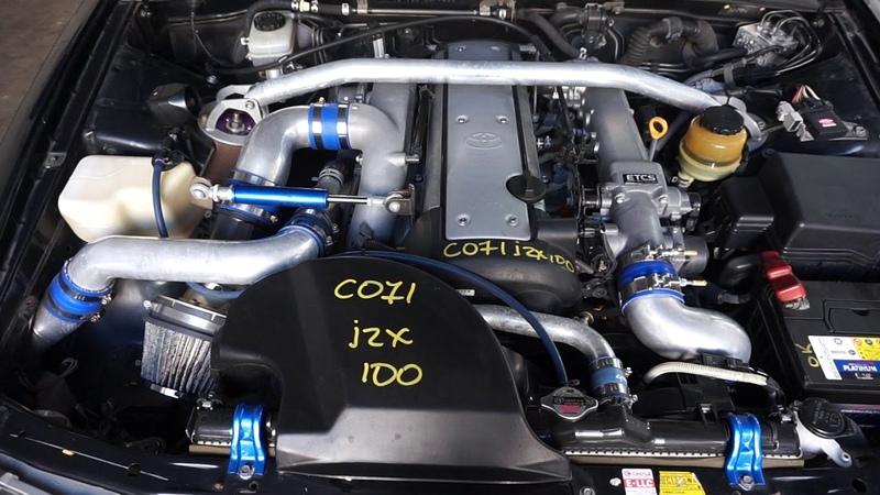 Запуск ДВС 1JZ-GTE Toyota Chaser JZX100 [C071]